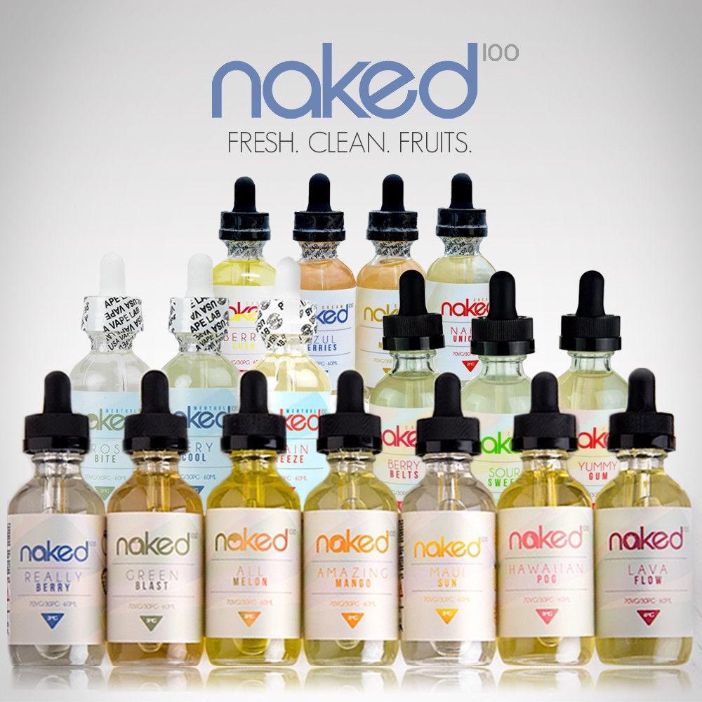Cuban Blend Naked 100 E-Liquid | 60mL Freebase - VapeLoft