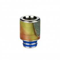 Arctic Dolphin - Stabilized Wood 510 Drip Tip